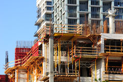 Construction site. royalty free stock image
