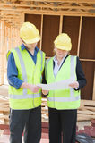 At the construction site Royalty Free Stock Photo