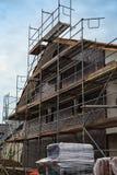 Construction site. – building a new family home Stock Photos