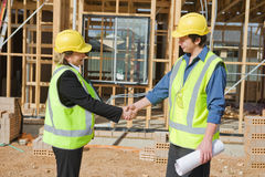 At the construction site Royalty Free Stock Image