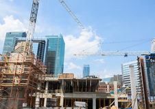Construction Site Royalty Free Stock Images