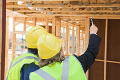 At the construction site Royalty Free Stock Photography