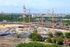 Construction site. Stock Photos