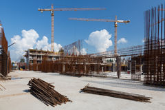 Construction Site Stock Photography