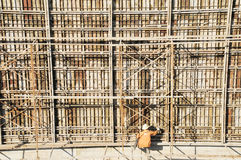 The construction site Royalty Free Stock Photography