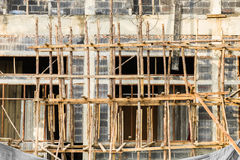Construction site abstract background. Stock Photo