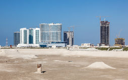 Construction site in Abu Dhabi Royalty Free Stock Images