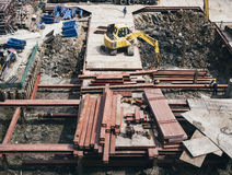 Construction site Architecture building Industrial Royalty Free Stock Photos