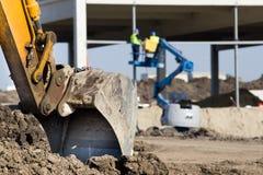 Construction site atmosphere Stock Photo