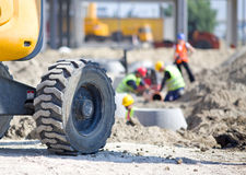 Construction site atmosphere Royalty Free Stock Photos