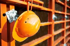 Construction site background Royalty Free Stock Photo