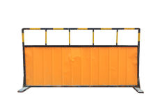 Construction site of the baffle plate. With clipping path Stock Photo
