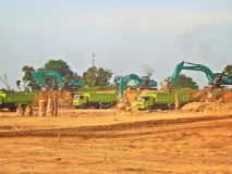 Construction site, Batam Royalty Free Stock Images