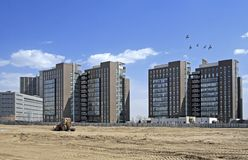 Construction site in Beijing. Stock Images