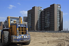 Construction site in Beijing. Royalty Free Stock Photos