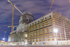The construction site of the Berlin City Castle Royalty Free Stock Images