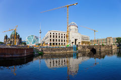 Construction site of the Berlin City Palace Royalty Free Stock Photography