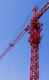 The construction. Site of blue sky Royalty Free Stock Photography