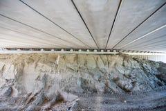 On a construction site of a bridge stock photos