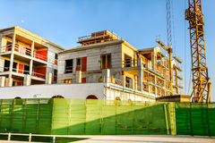 Construction site of the Building. In Montenegro stock photos