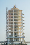 Construction site of building tower. Royalty Free Stock Image