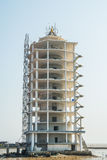 Construction site of building tower architecture. Stock Photo