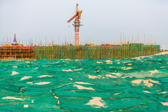 Construction site in China Stock Photos