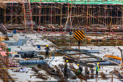 Construction site in China Royalty Free Stock Image