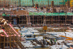 Construction site in China Royalty Free Stock Images