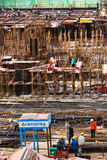 Construction site in China Stock Photo
