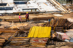Construction site in China Royalty Free Stock Photography