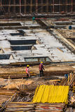 Construction site in China Royalty Free Stock Photos