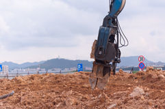 Construction site clip Stock Photos