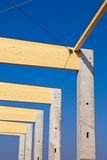 Construction site for commercial Royalty Free Stock Photography