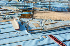 Construction Site Composition Royalty Free Stock Photos