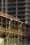 Construction Site. Concrete Highrise Construction Site background stock image