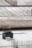 Construction site concrete steel Stock Images