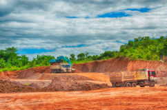Construction site and Construction activity Royalty Free Stock Photo