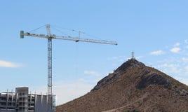 Construction site Crane Stock Image