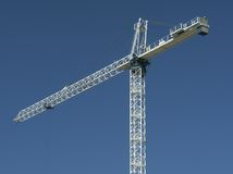 Construction Site Crane Stock Photography