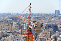 Construction Site Crane Royalty Free Stock Image