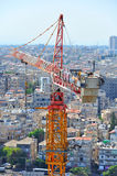 Construction Site Crane royalty free stock photography