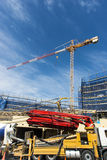 Construction site crane Royalty Free Stock Images