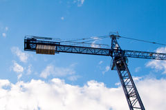 Construction site with cranes Royalty Free Stock Photos