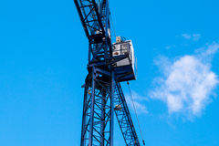 Construction site with cranes Stock Image