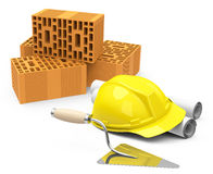 The construction site Royalty Free Stock Photos