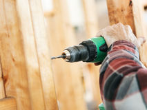 Construction Site - Drilling stock photography