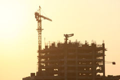 Construction Site In Dubai Royalty Free Stock Images