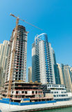 Construction site in Dubai Royalty Free Stock Photography
