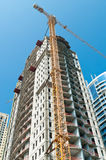 Construction site in Dubai Stock Images